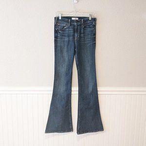 NWT Hollister High Rise Flare Denim Jeans Sz 29/7